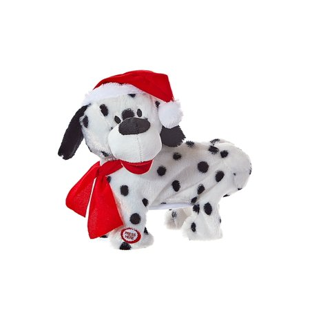 Kurt Adler Battery-Operated Musical Animated Twerking and Dancing Christmas Dog ()