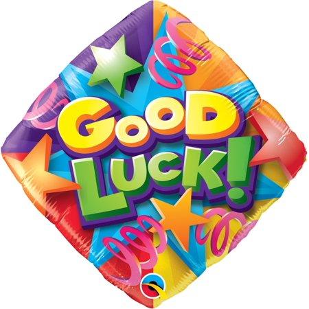 Qualatex Good Luck Stars & Streamers Diamond 18