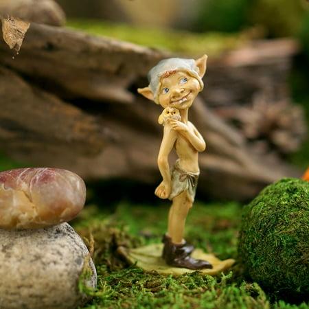 Top Collection Miniature Fairy Garden Garden Pixie With - Miniature Owl