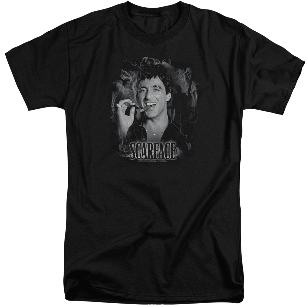Scarface Smokey Scar Mens Big and Tall Shirt