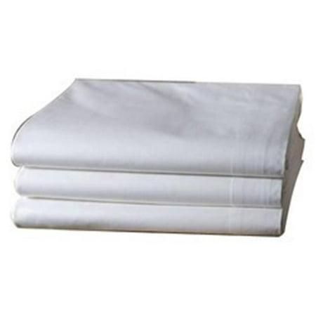 Poly Stretcher Sheets (Fabrication Enterprises 15-3753CPW Massage Sheet Set, Cotton Poly, White)