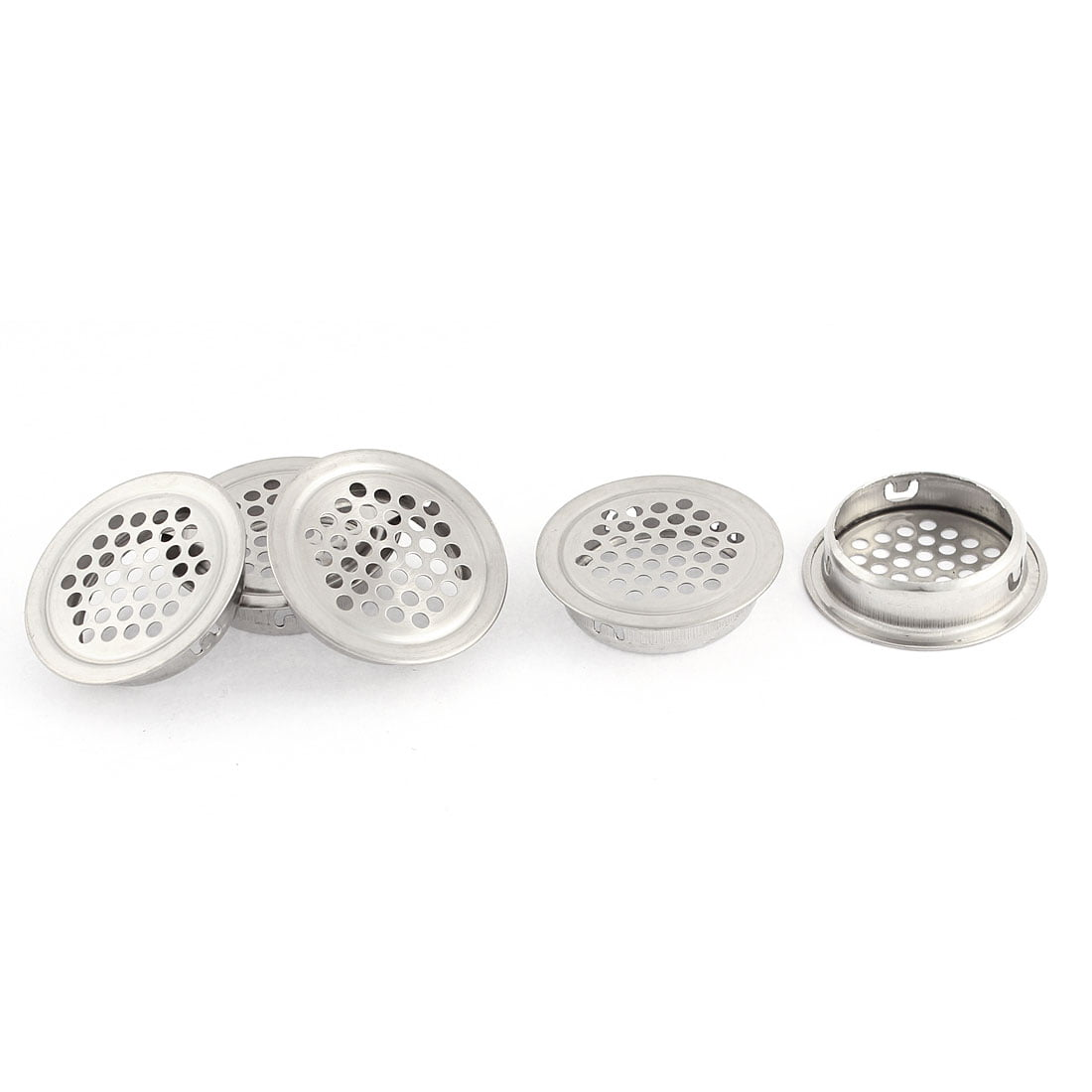 Uxcell Home Water Sink Drainer Strainer with 3.1 Dia Silver Tone