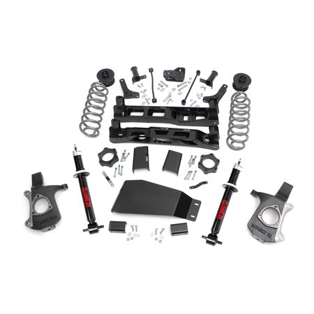 Rough Country - 286.23 - 7.5-inch Suspension Lift System w/ Premium N2.0 Struts for Chevrolet: 07-13 Tahoe 4WD; GMC: 07-13 Yukon (Rapidvap N2 Evaporation System)