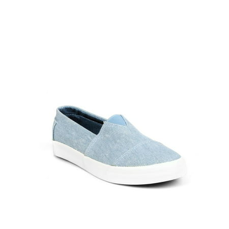 Nature Breeze Slip on Women's Canvas Sneakers in Denim (Denim Womens Mules)