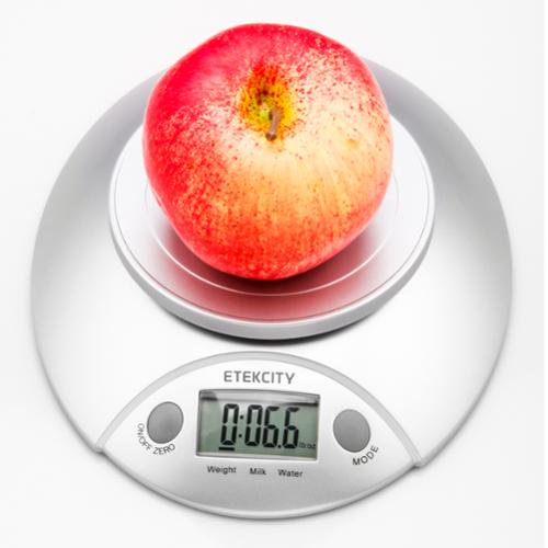 d9d608280631 Etekcity Digital Food Scale and Multifunction Kitchen Weight Scale with  Removable Bowl, 11 lb 5kg