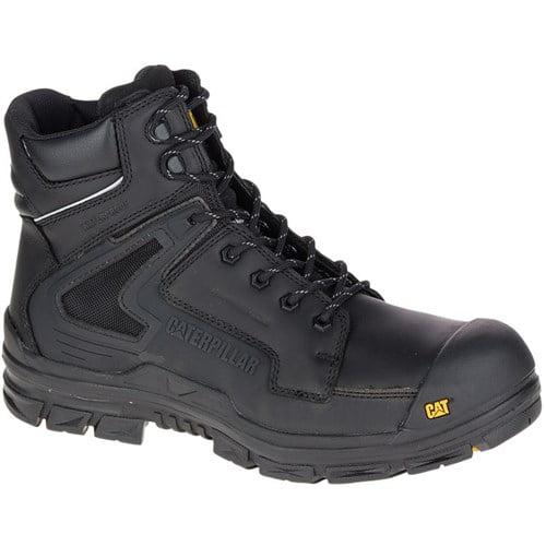"""CAT Footwear Chassis Nano Toe - Black 12(M) Work Boot"""