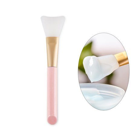 Face Mask Diy (FTEENPLY Face Mask Brush Silicone DIY Facial Mask Mud Mixing Brush Tool Women Soft Face Skin Care)