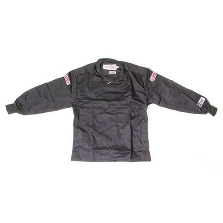 Black Small Single Layer GF125 Driving Jacket P/N
