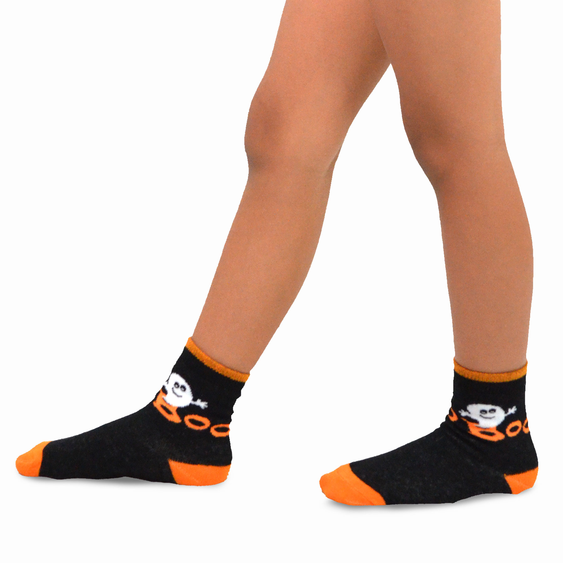 Witch Cat Ghost Details about  /TeeHee Halloween Kids  Fun Crew Socks 3-Pair Pack