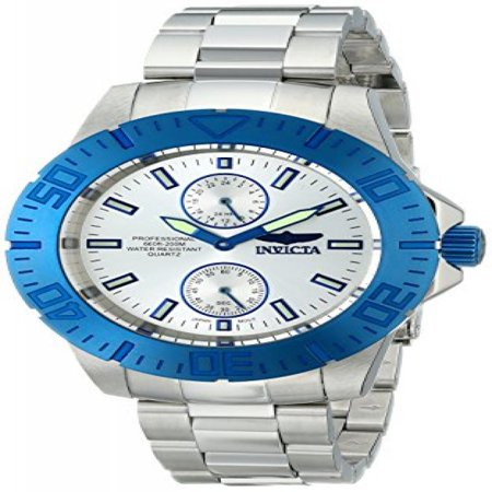 Invicta Mens 14059Syb   Pro Diver   Blue Stainless Steel Watch