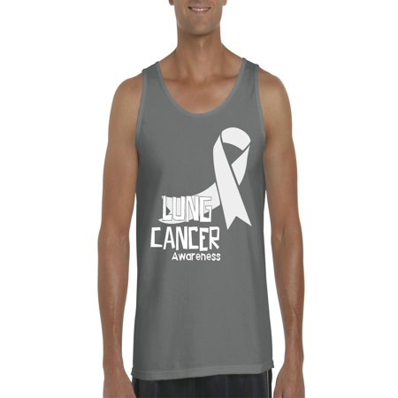 08dd833a71 Normal is Boring - Lung Cancer Awareness Men Ultra Cotton Tank Top -  Walmart.com