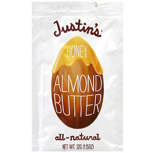 Justin's Honey Almond Butter, .32g (Pack of 10)