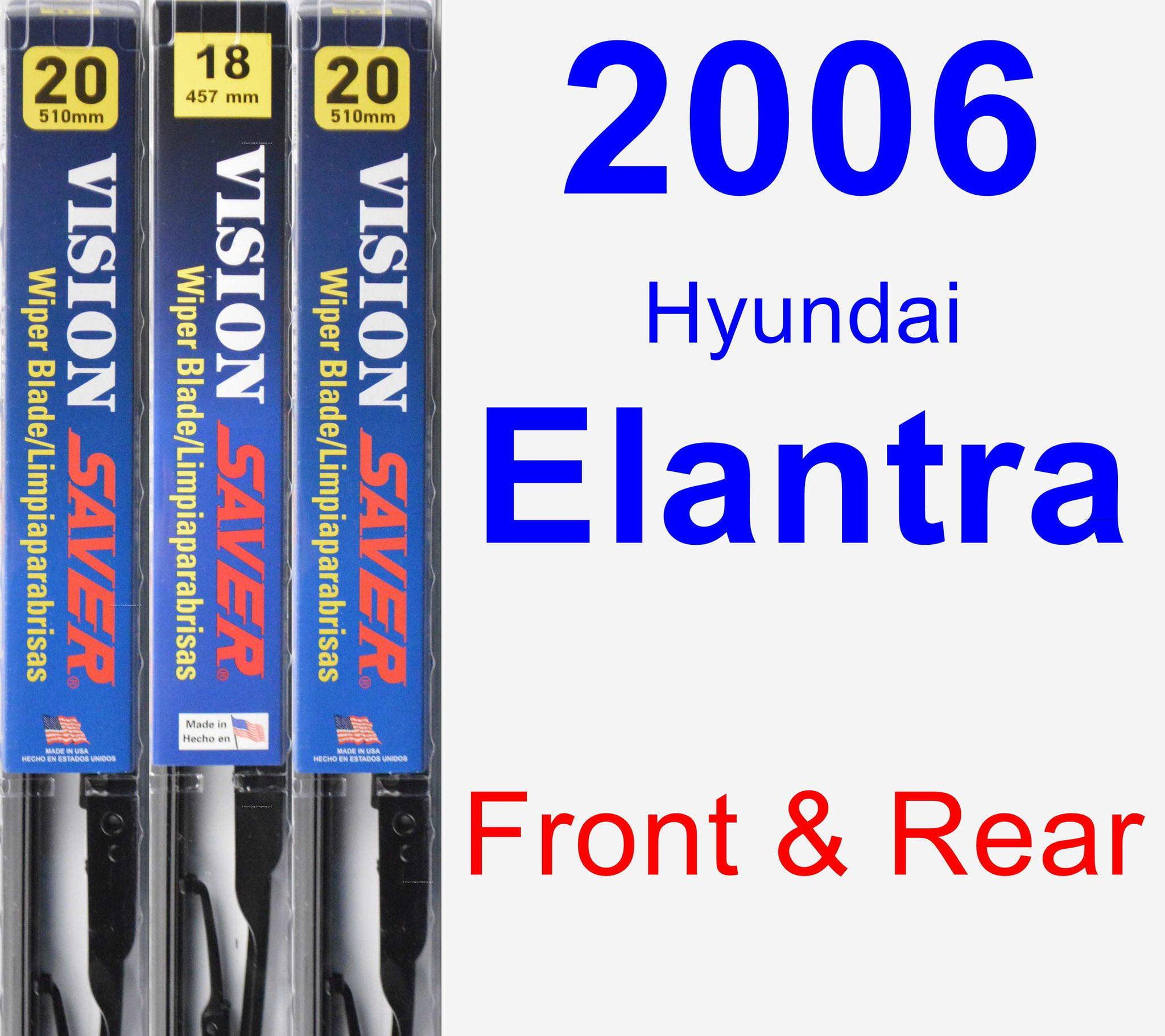 Windabweiser für Hyundai Elantra 1 XD Facelift 2003-2006 Schrägheck Hatchback 5t