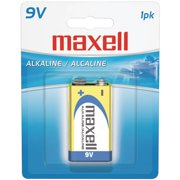 Maxell 721110 9V Single Alkaline Battery