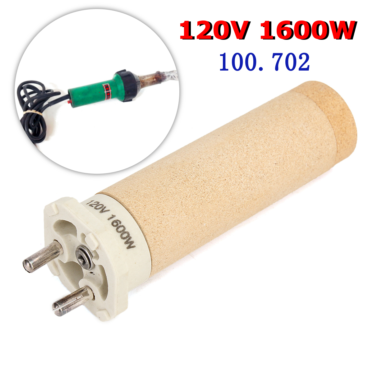 Meigar 120V 1600W Heating Element Welding NT100.702 Ceramic For DIODE S Hot