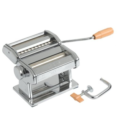Norpro 1050 Atlas Pasta Machine - Cuts 0. 06''/1. 5mm Pasta Sheets and Vermicelli