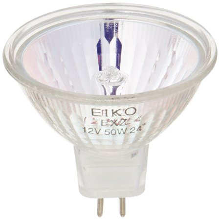 Narrow Base - EXZ 12V 50W 24 Deg. Narrow Flood Mr16 Gu5.3 Base,, These lamps feature high performance tungsten filaments which produce a brighter, whiter.., By Eiko