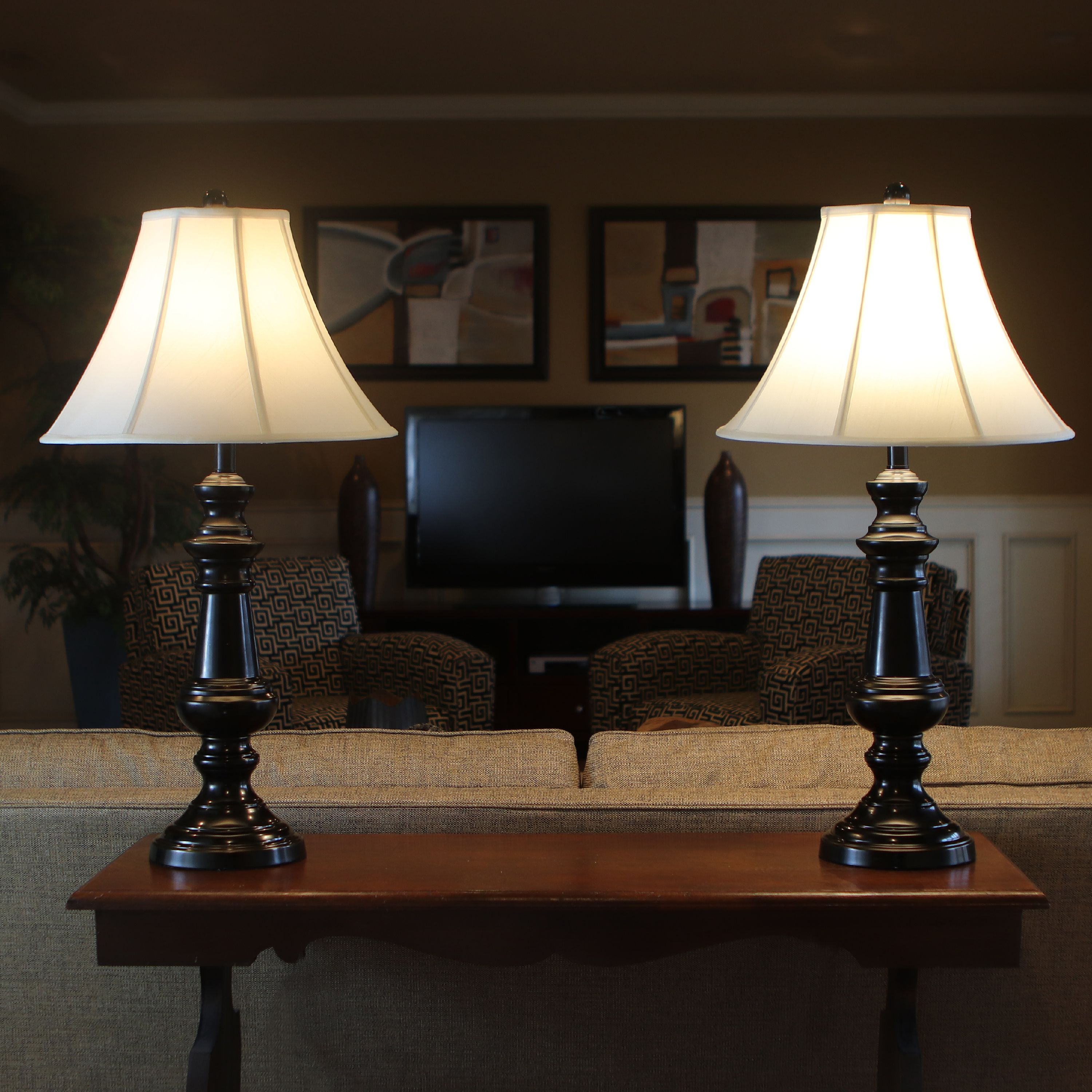 Touch Control 2 Pack Table Lamp