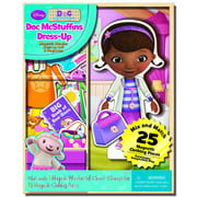 Disney Doc McStuffins Dress-up Wooden Magnetic Play Set, 25pc