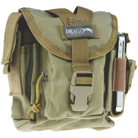 Drago Gear 16302TN Patrol Pack Belt Bag Reinforced Webbing Tan