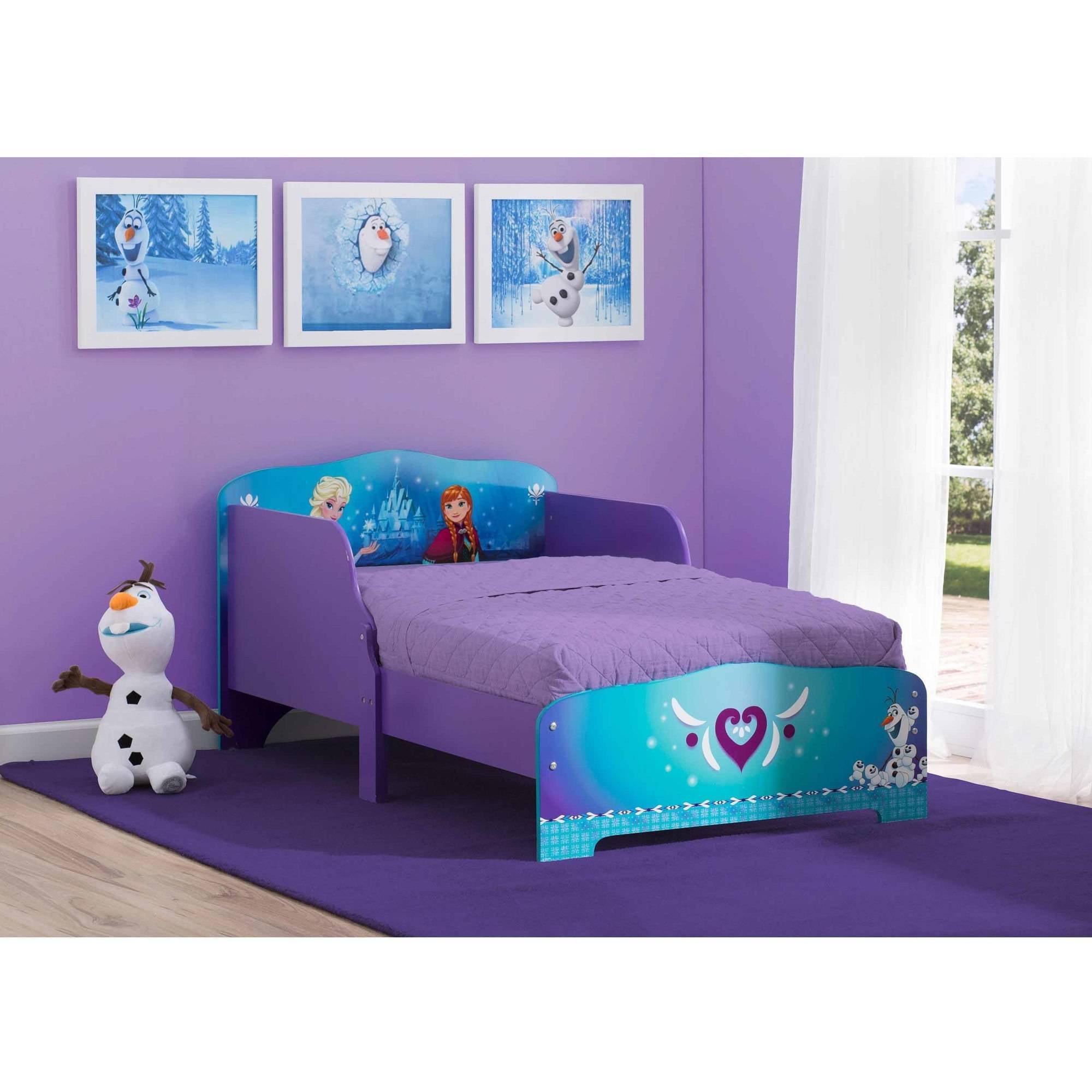 Superior Disney Frozen Wood Toddler Bed   Walmart.com