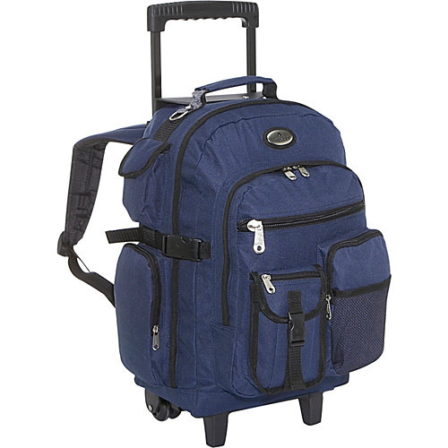 Everest Deluxe Rolling Backpack
