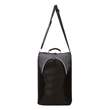 Recycled Vertical Messenger Bag - THE CITY DAMIER TSA VERTICAL MESSENGER