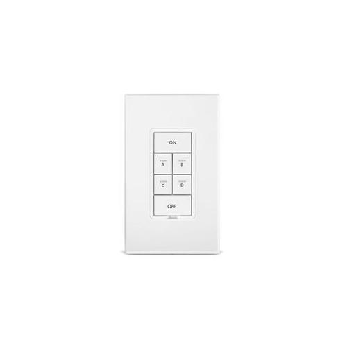 INSTEON Keypad Dimmer Switch - Dual-Band, 6 Button, White - 2334-232