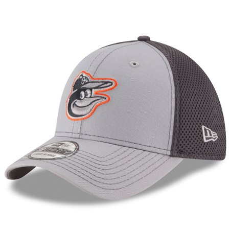 - Baltimore Orioles New Era Grayed Out Neo 2 39THIRTY Flex Hat - Gray