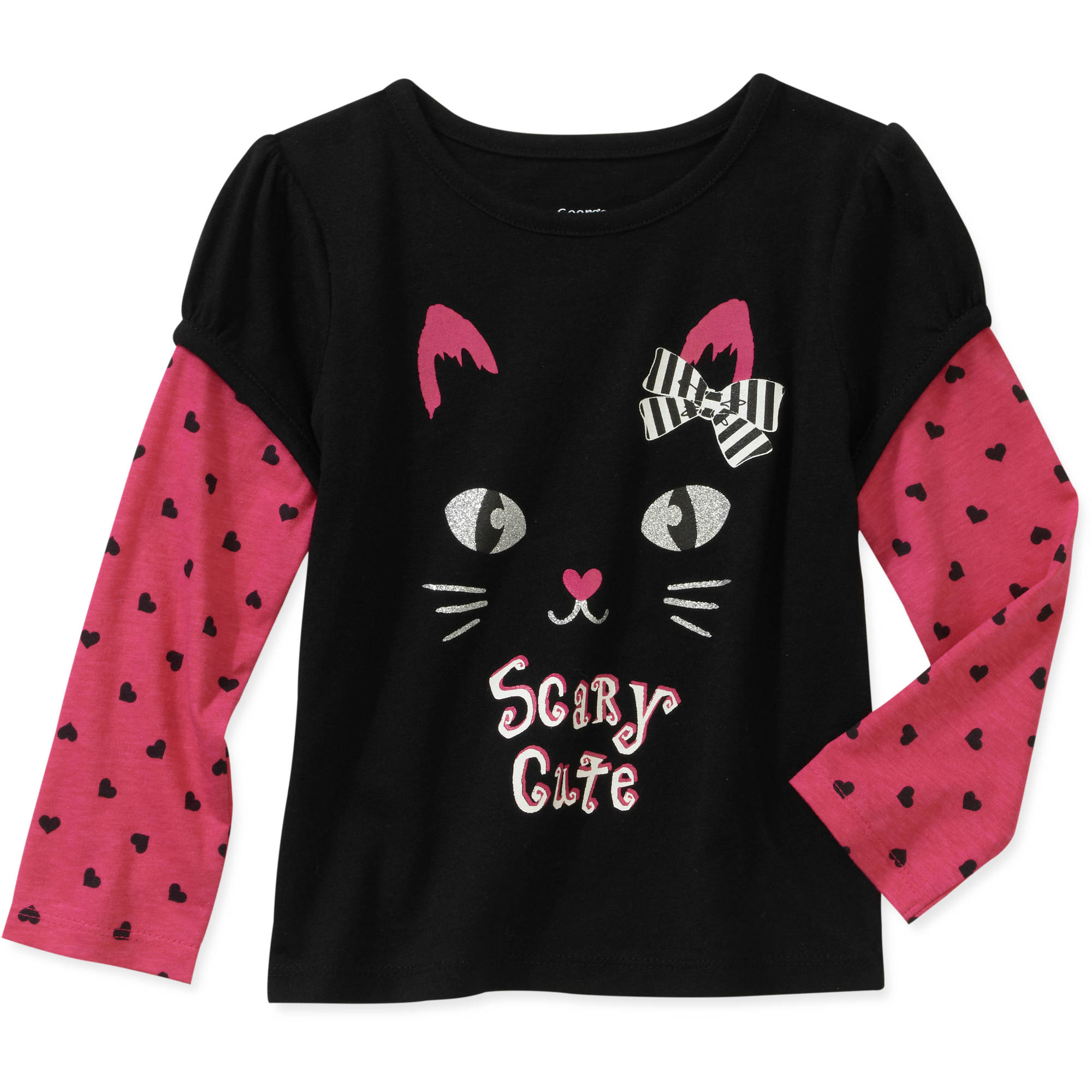 Baby Girls' Hangdown Halloween Tee