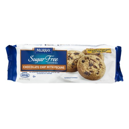 Murray Sugar Free Cookies Chocolate Chip With Pecans  5 5 Oz