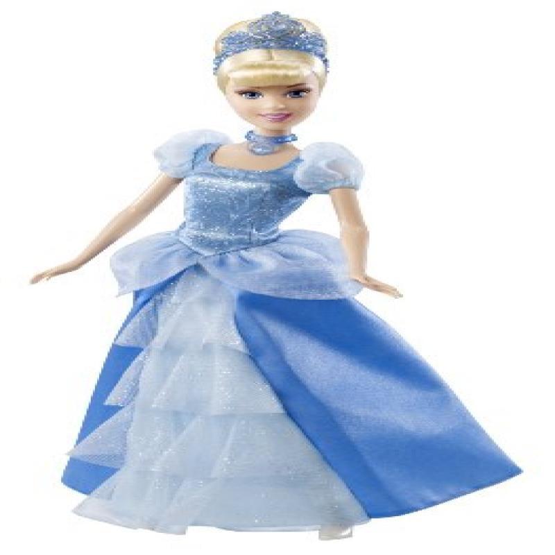 Disney Princess Sparkling Princess Cinderella Doll 2011 by Mattel