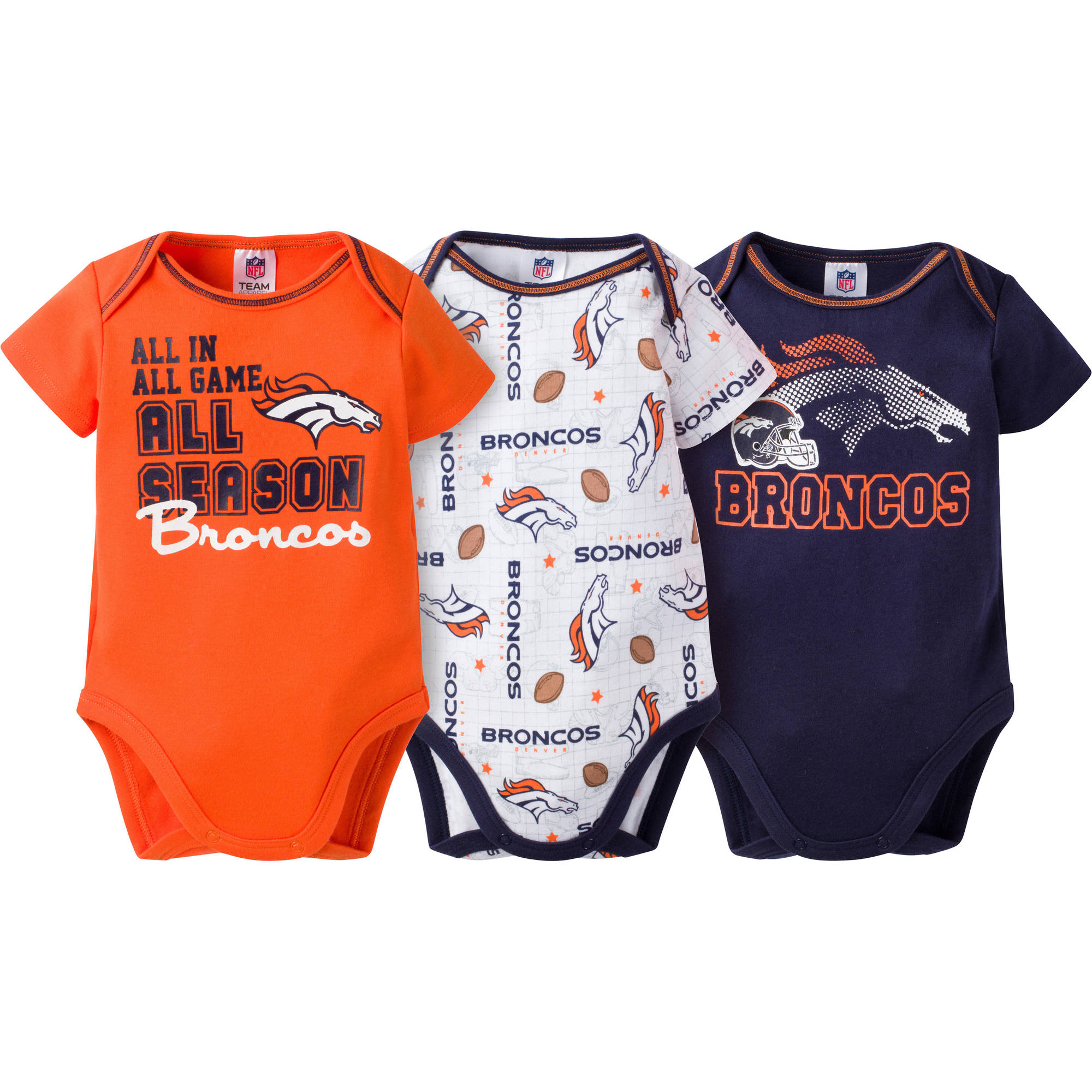 NFL Denver Broncos Baby Boy Game Day Gear - Walmart.com 7e40bf606