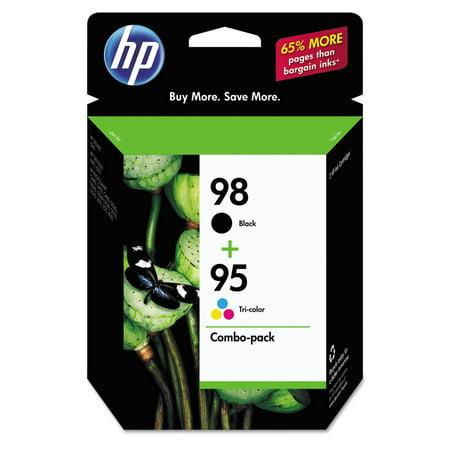 HP 98 Black/95 Tri-color Original Ink Cartridges, 2 pack (CB327FN) Business Inkjet 3000 Ink