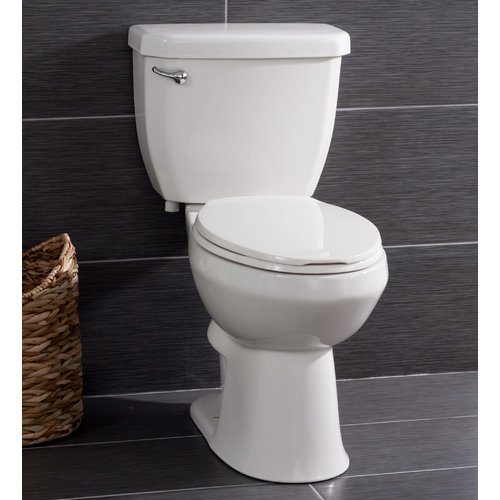 Miseno High Efficiency 1.28 GPF Elongated Two-Piece Toilet