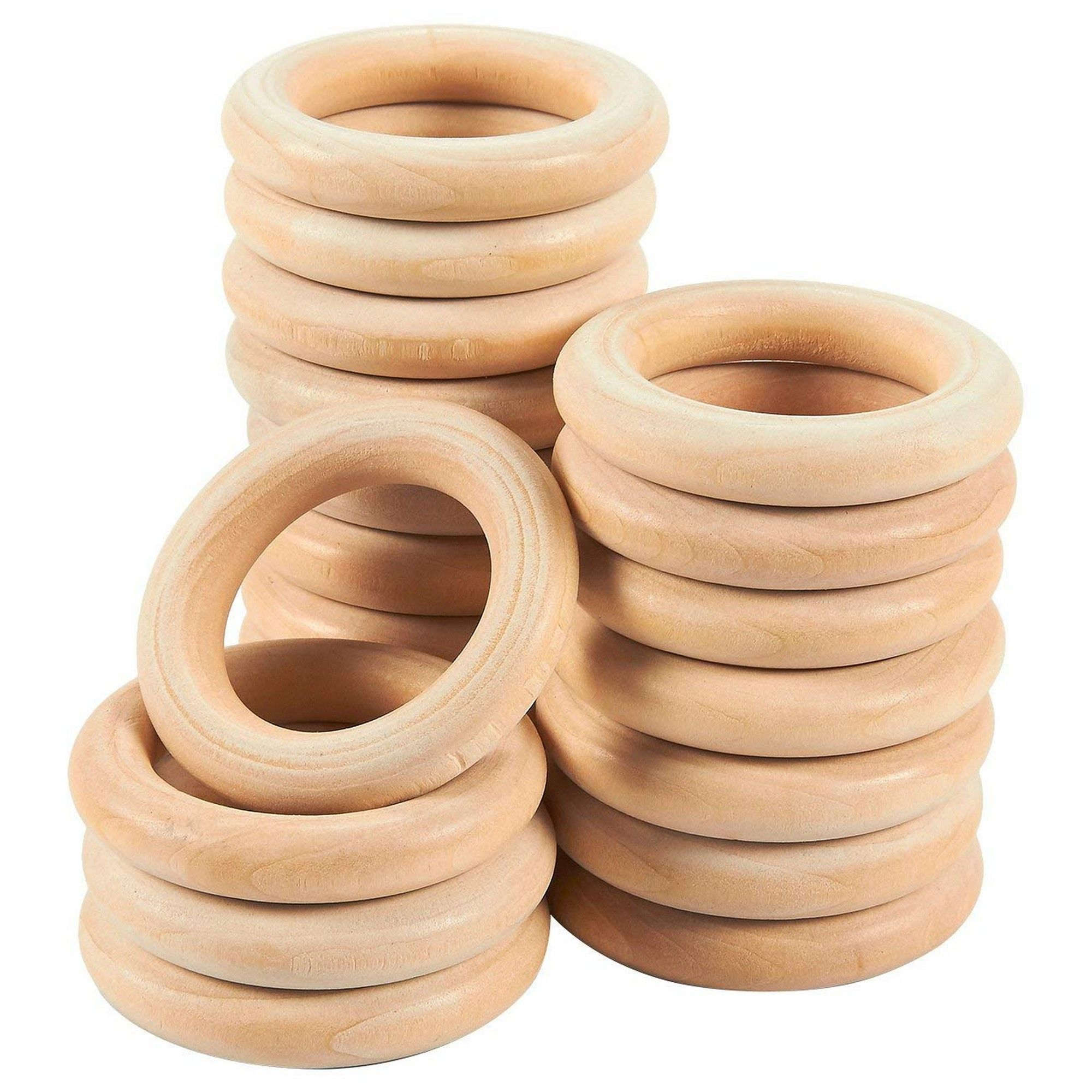 Wood Rings For Crafts