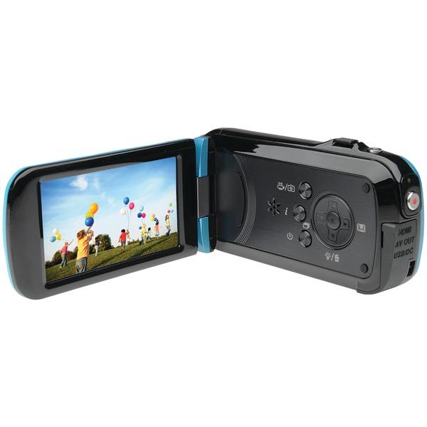 BELL+HOWELL DV7HD-BL 16.0-Megapixel Slice II DV7HD Ultraslim 1080p HD Camcorder (Blue)