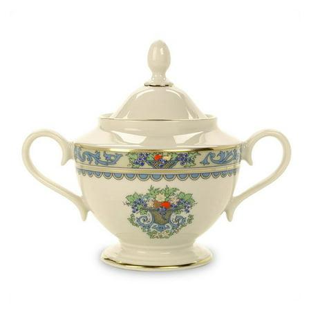 Lenox Autumn Sugar Bowl With Lid