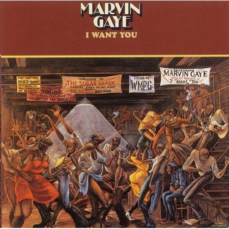 Marvin Gaye - I Want You - Vinyl