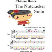 Chinese Dance Nutcracker Suite Easy Piano Sheet Music with Colored Notes - eBook