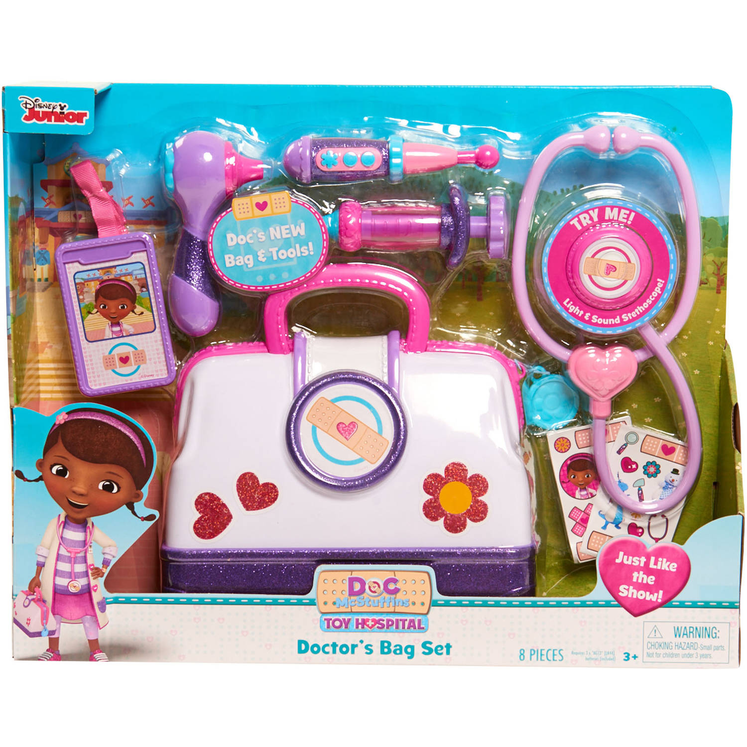 Disney Junior Doc McStuffins Toy Hospital Doctor Bag - Walmart.com