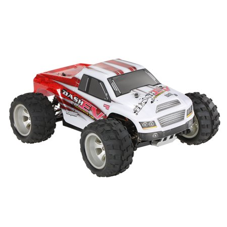 WLtoys A979-B 2.4G 1/18 Scale 4WD 70KM/h High Speed Electric RTR Truck RC Car - image 6 de 7