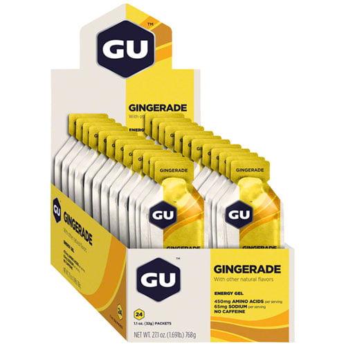 GU Energy Gel: Gingerade, Box of 24