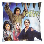 The Princess Bride Alt Poster Throw Pillow White 16X16