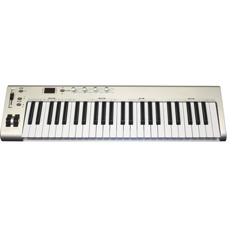 Main Street 49-Key MIDI USB Controller Keyboard (Best Midi Controller On The Market)