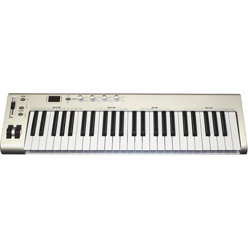 Main Street 49-Key MIDI USB Controller Keyboard
