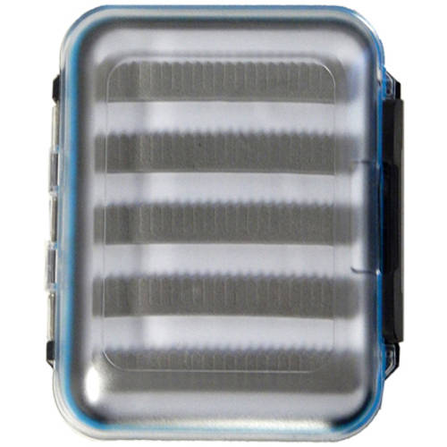"""Precision Fly and Tackle Small Clear Fly Box, 5"""" x 4"""" by Fly Rodders Heaven"""
