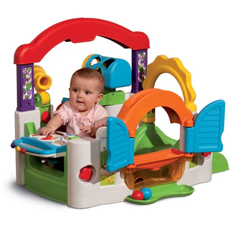 1 Learning Activity Cube (Little Tikes Multi-Language Electronic Activity Garden)