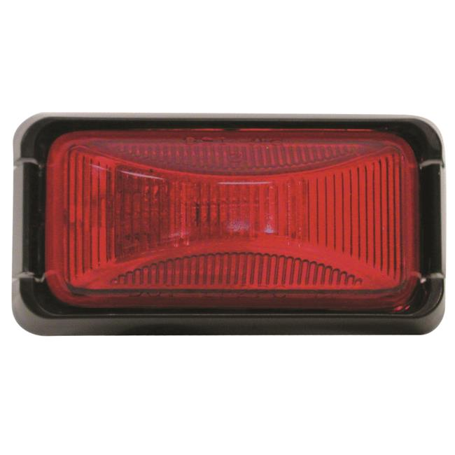 E150BKR Sealed Clearance & Side Marker Light Kit - Red & Black - image 1 de 1