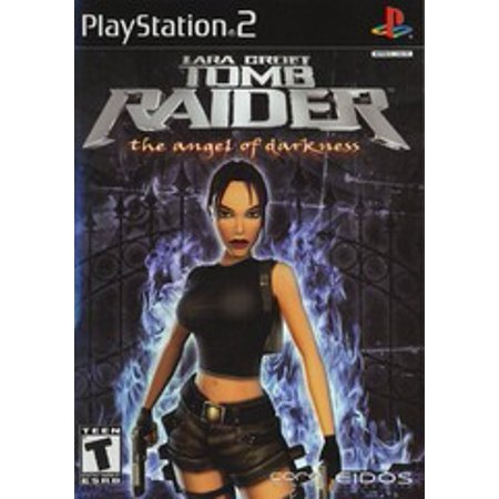 Tomb Raider Angel of Darkness - PS2 Playstation 2 (Refurbished)